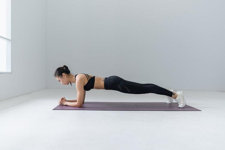 como ganhar mais resistência física - prancha