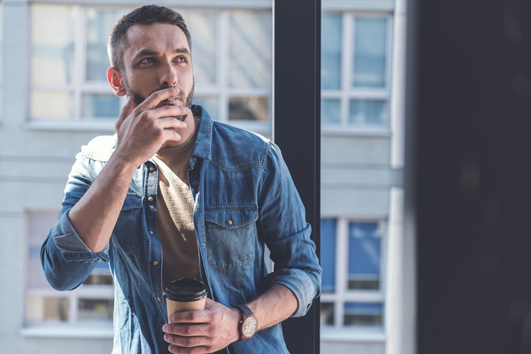 consequências do tabagismo - fumante habitual