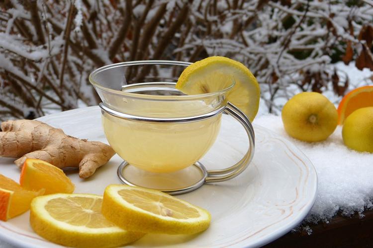 remedio caseiro para azia - chá de gengibre