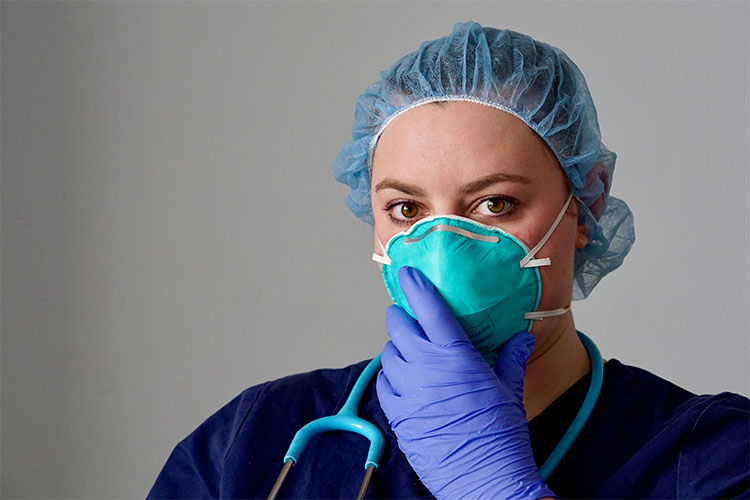 mascaras de protecao respiratoria n95 para profissionais de saude