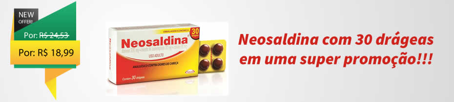Promoção Neosaldina