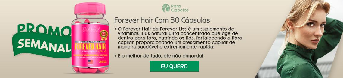 Forever Hair Com 30 Cápsulas