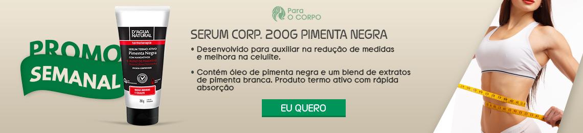 SERUM CORP..D'AGUA NATURAL 200G PIMENTA NEGRA