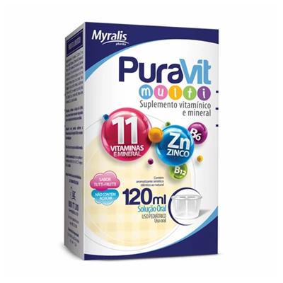 Puravit MultiI com 120ml