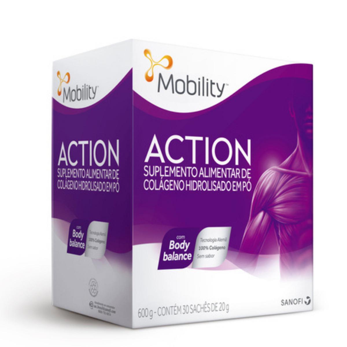 Mobility Action com 30 sachês de 20g