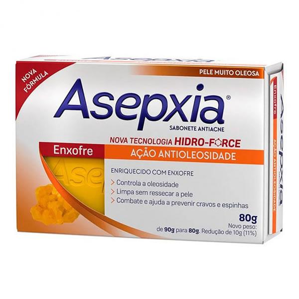 Asepxia Sabonete Enxofre com 80g