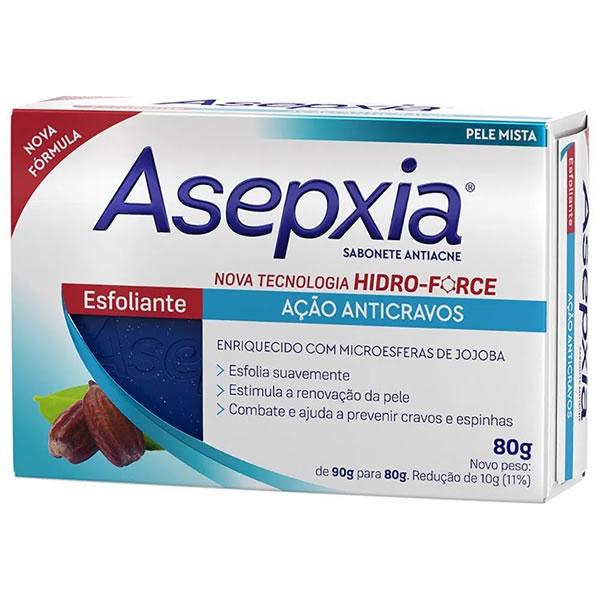 Asepxia Sabonete Esfoliante com 80g