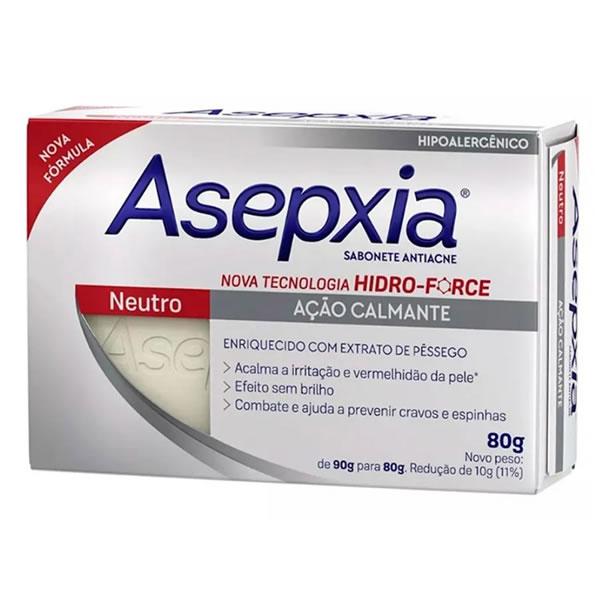 Asepxia Sabonete Neutro com 80g