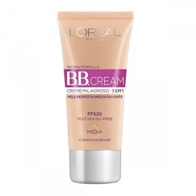 BB Cream Loreal FPS20 Média com 30ml