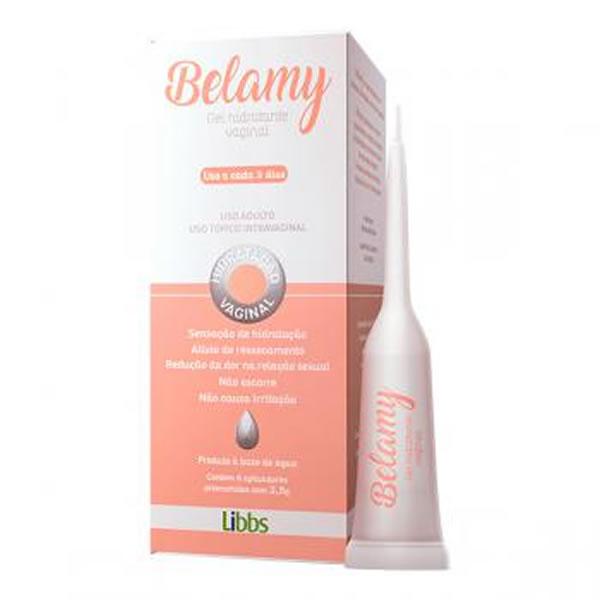 Belamy Gel Vaginal 2,5g com 8 aplicadores