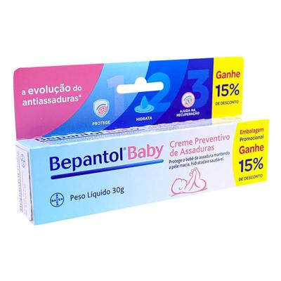 Creme Preventivo de Assaduras Bepantol Baby com 30g