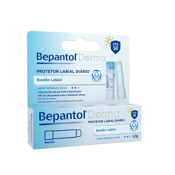 Bepantol Derma Protetor Labial FPS50 com 4,5g