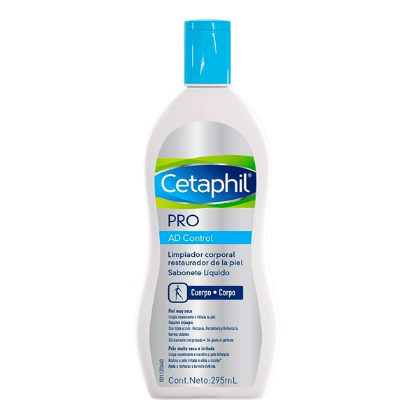Cetaphil Pro AD Control Sabonete Líquido com 295ml