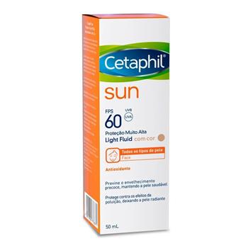 Cetaphil Sun FPS60 Antioxidante com Cor 50ml