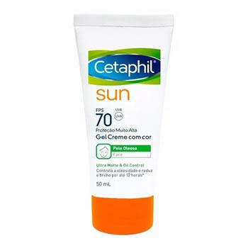 Cetaphil Sun FPS70 Gel Creme com Cor 50ml