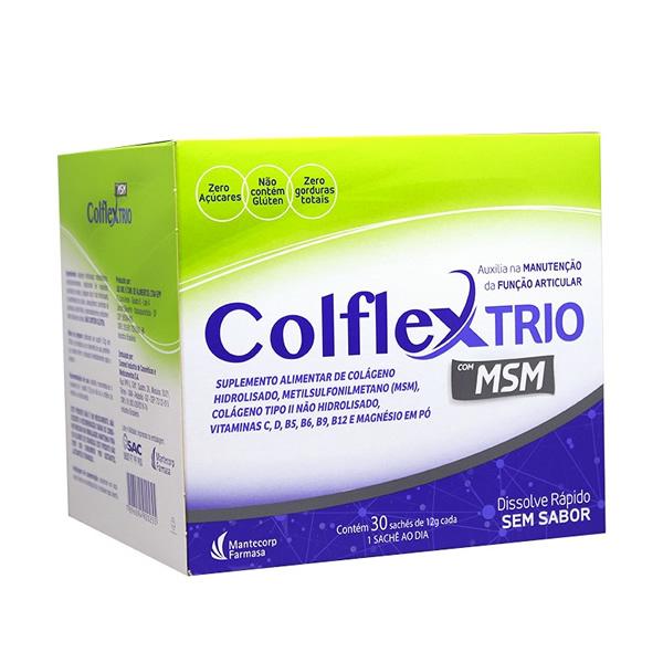 Colflex Trio com 30 Sachês