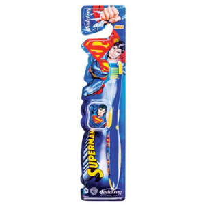 Escova Dental Jadefrog Infantil Superman Macia