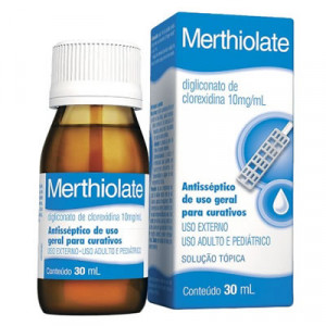 Merthiolate com 30ml
