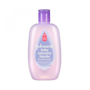 Sabonete Johnson's Baby hora do sono 200ml