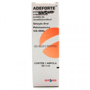 Adeforte 1 Ampola com 3ml