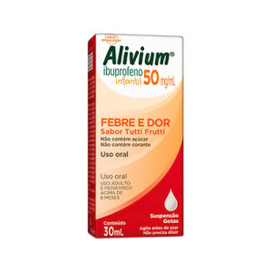 Alivium 50mg/ml Gotas com 30ml