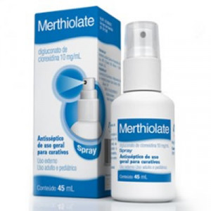Merthiolate Spray com 45ml