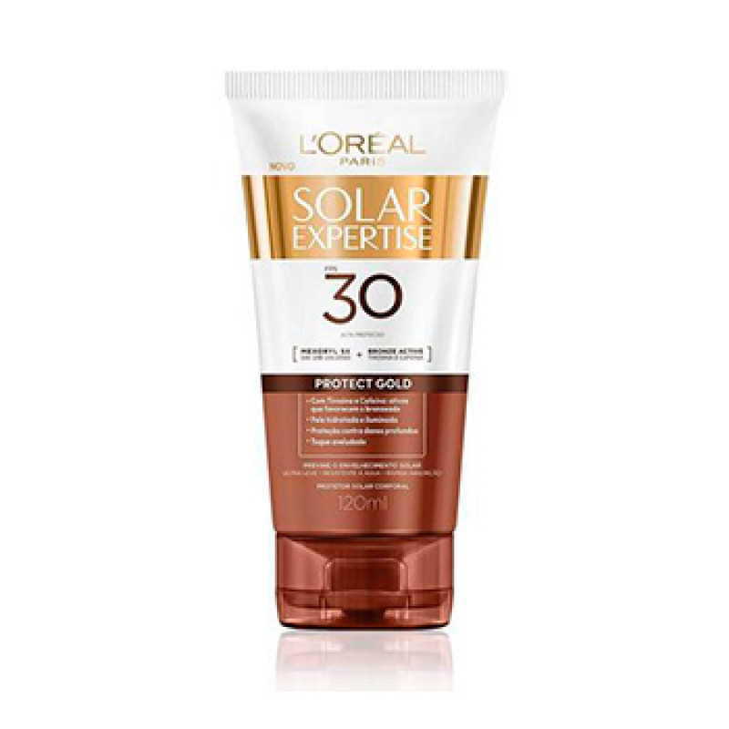 Protetor Solar Expertise Loreal FPS30 Gold 120ml
