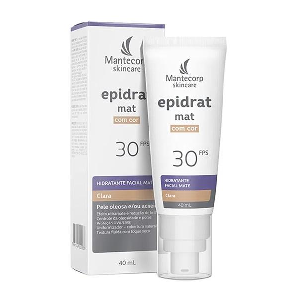 Epidrat Mat FPS30 Clara com 40ml
