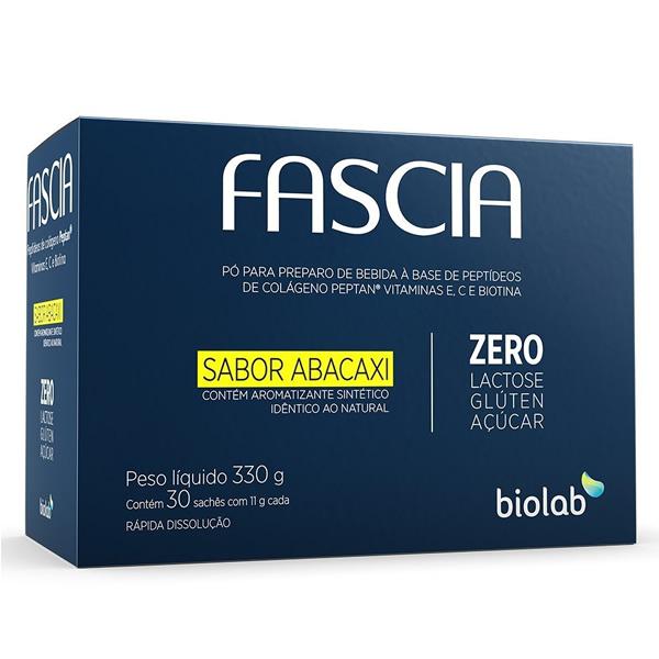 Fascia Sabor Abacaxi com 30 Sachês de 11g