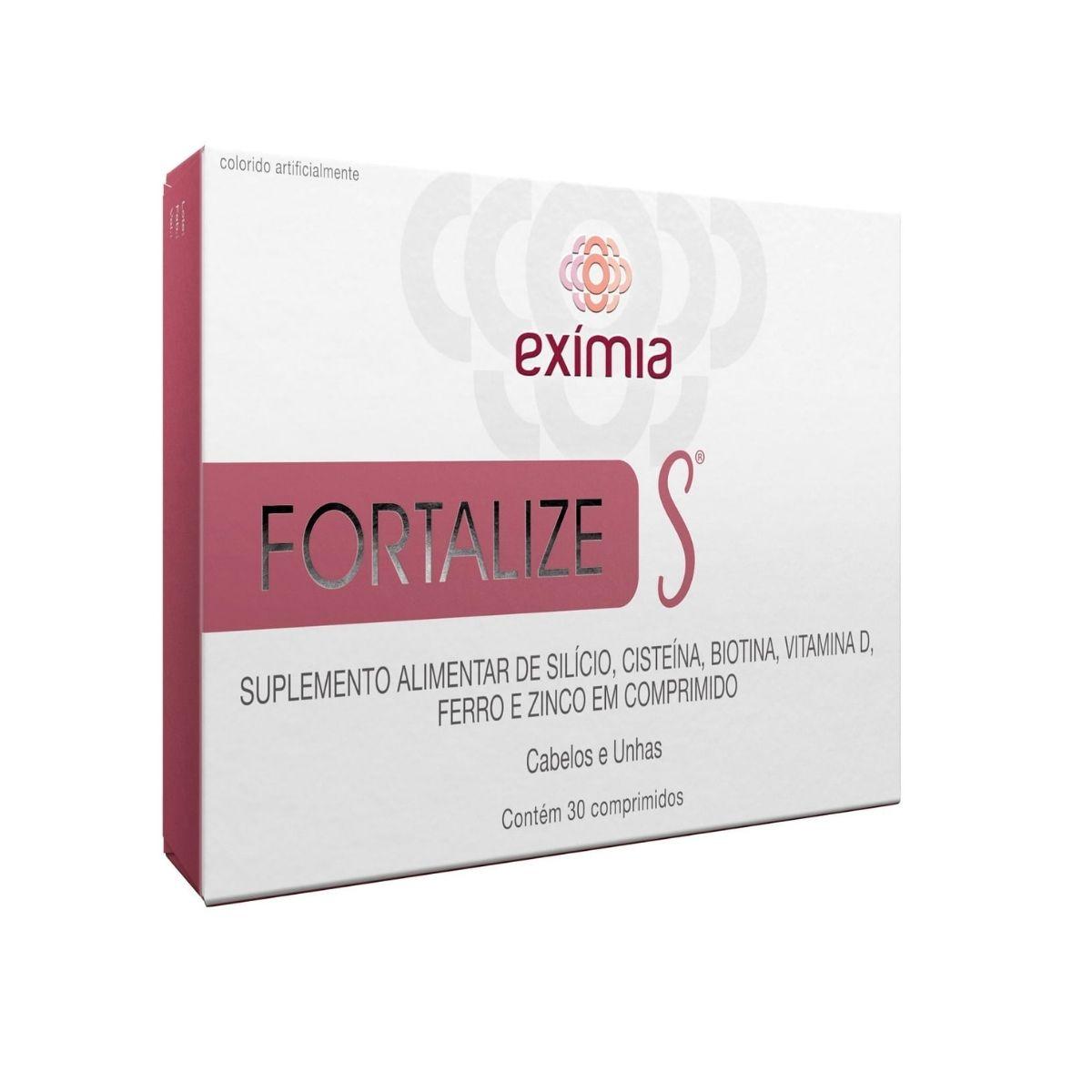 Eximia Fortalize S com 30 comprimidos