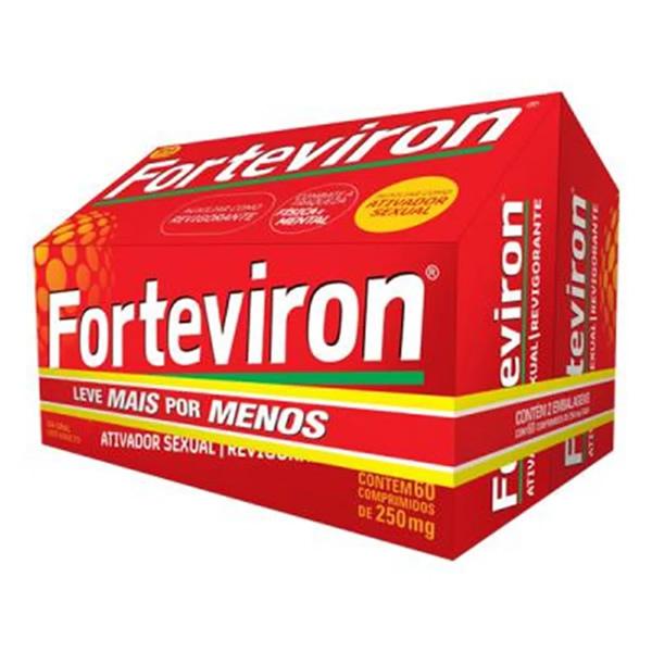 Forteviron 250mg kit com 2 caixas de 60 comprimidos