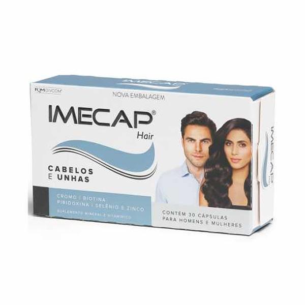 Imecap Hair com 30 Cápsulas