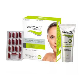Imecap Rejuvenescedor Kit com 30 Cápsulas + Creme Facial 35g