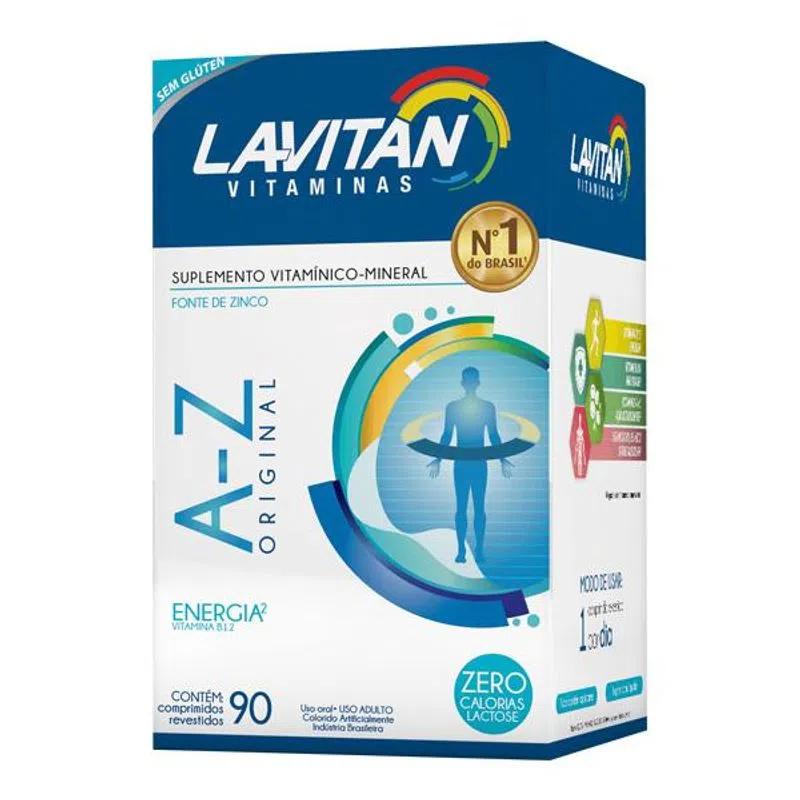 Lavitan A-Z Original com 90 Comprimidos