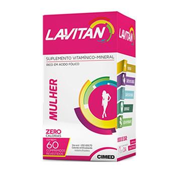 Lavitan Mulher com 60 comprimidos