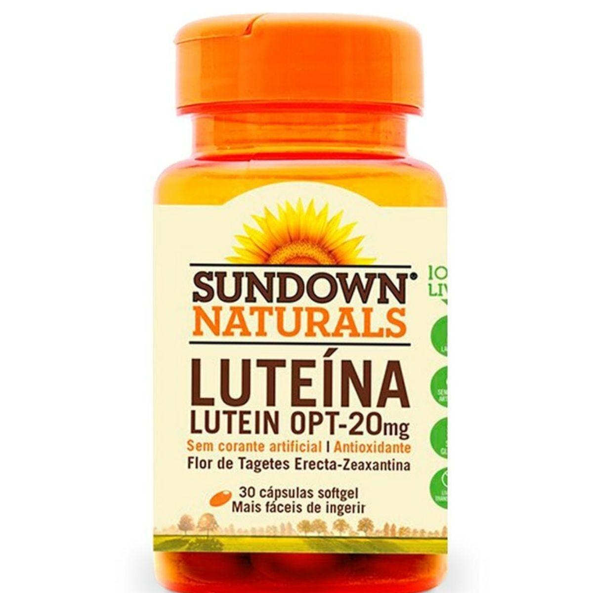 Lutein OPT Sundown com 30 cápsulas