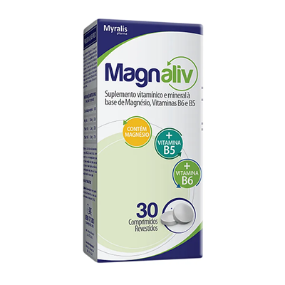 Magnaliv com 30 comprimidos