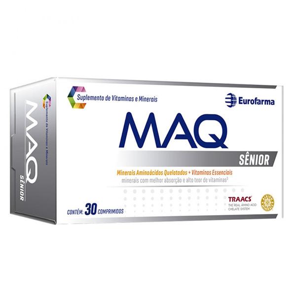 MAQ Sênior com 30 comprimidos