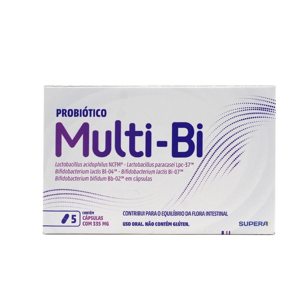 Multi-BI com 5 cápsulas