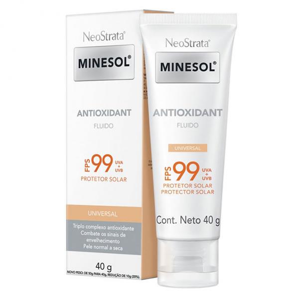 Neostrata Minesol Antioxidant Universal FPS99 com 40g