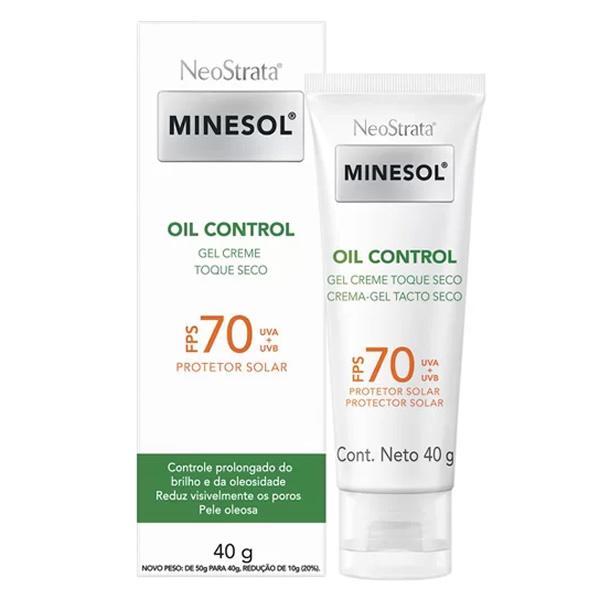 Neostrata Minesol Oil Control Gel Creme FPS70 com 40g