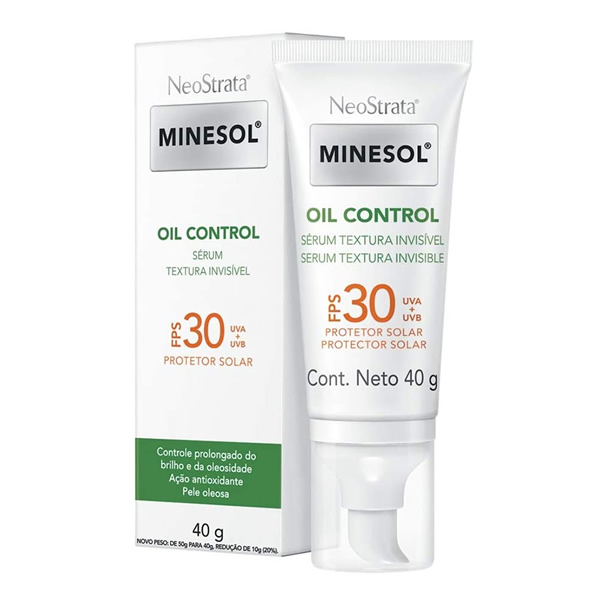 Neostrata Minesol Oil Control Sérum FPS30 com 40g