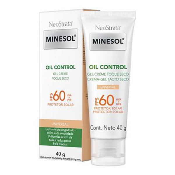 Neostrata Minesol Oil Control Universal FPS60 com 40g
