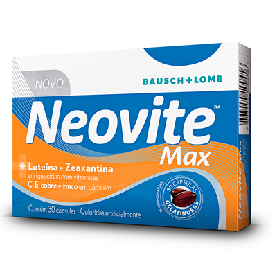 Neovite Max com 30 Cápsulas