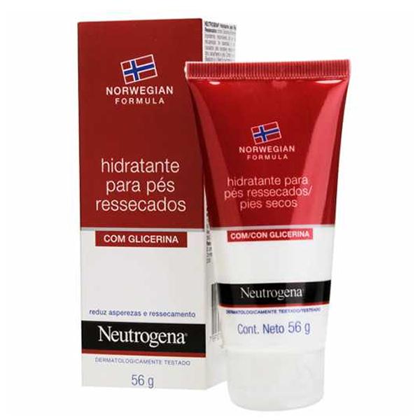 Neutrogena Norwegian Hidratante para Pés Ressecados com 56g