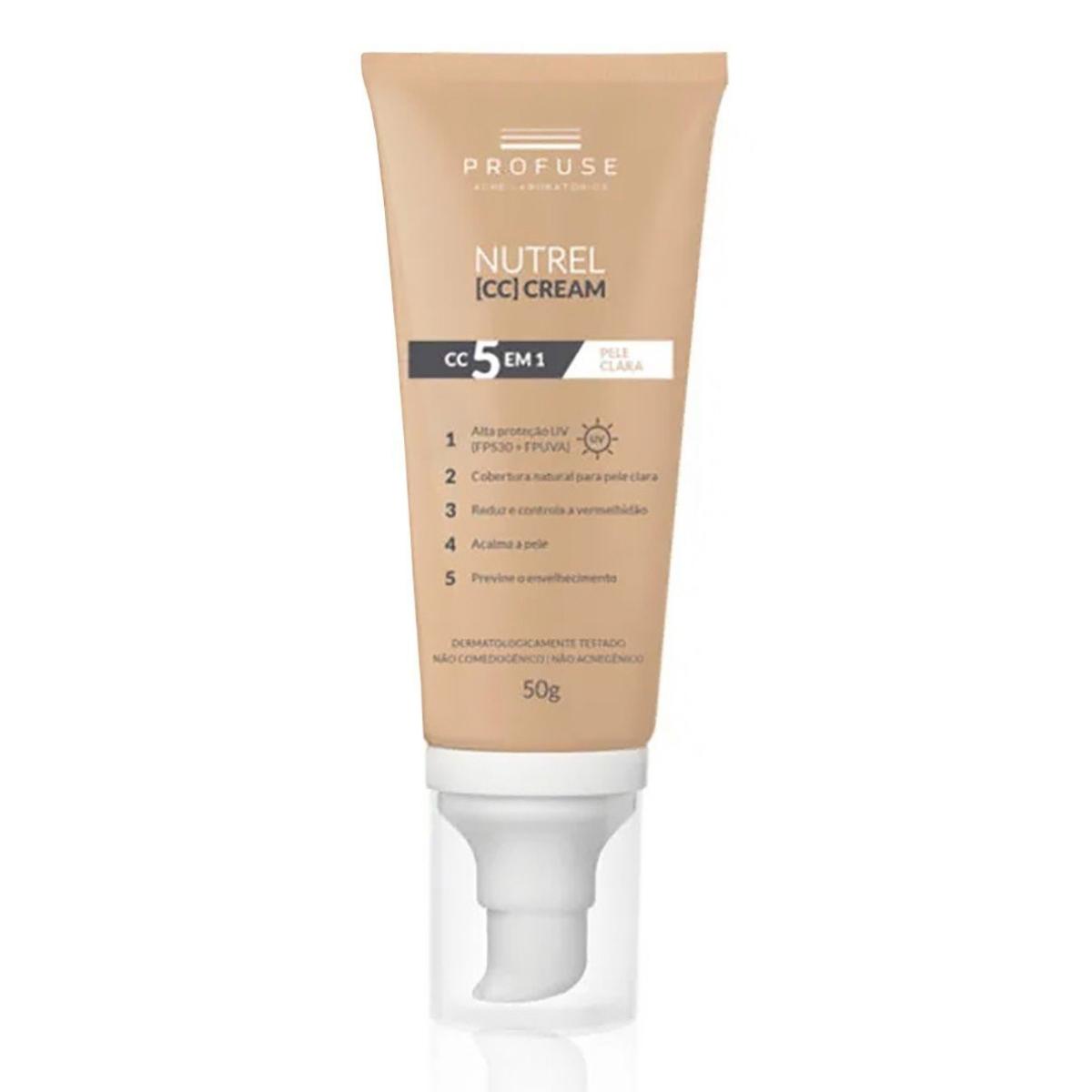 Nutrel Profuse CC Cream com 50g
