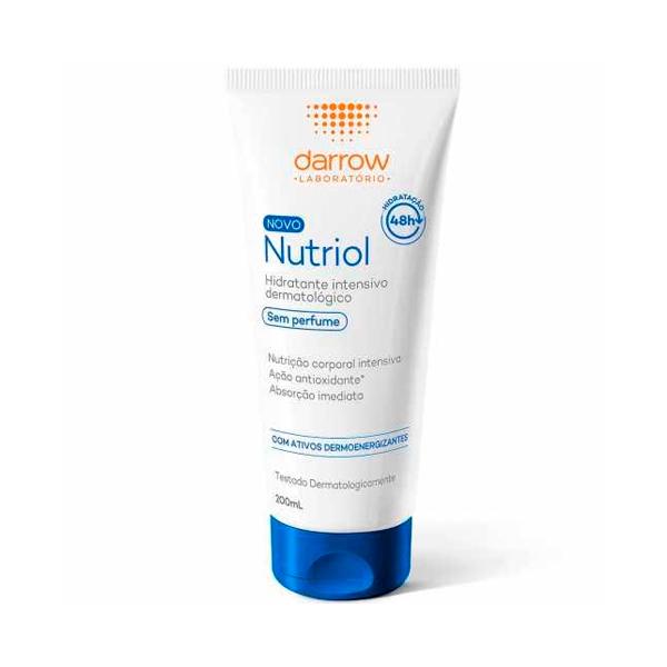 Nutriol Loção Hidratante Sem Perfume com 200ml