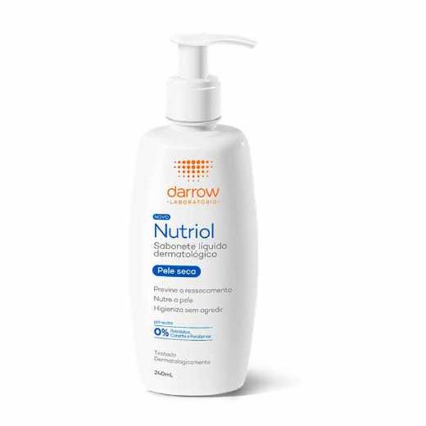 Nutriol Sabonete Líquido com 240ml
