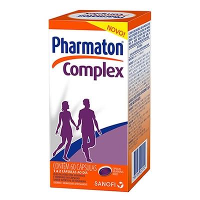Pharmaton Complex Com 60 Cápsulas