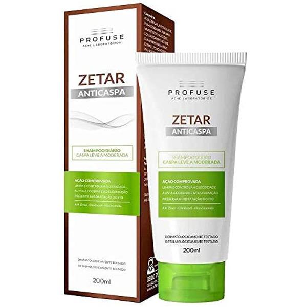 Profuse Zetar Shampoo Anticaspa com 200ml